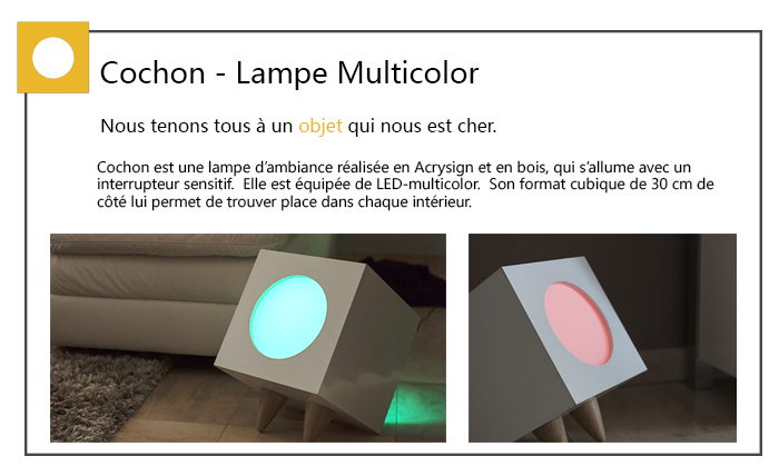 Cochon – A mood lamp
