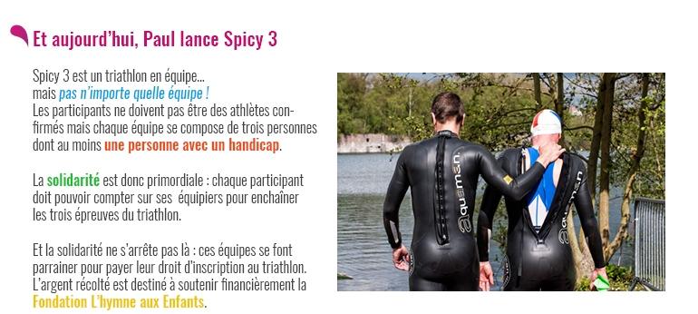 Spicy 3 - Un projet sportif, festif et solidaire