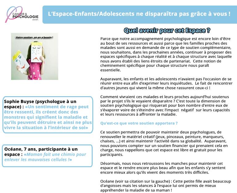 Espace Enfants/Adolescents