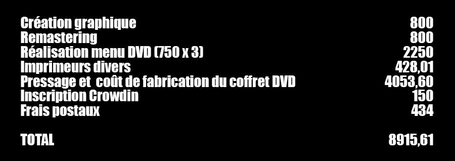 Le coffret DVD Okayss Prod.