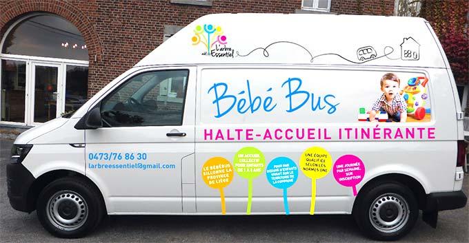 Bébébus en Province de Liège - la crèche qui bouge !