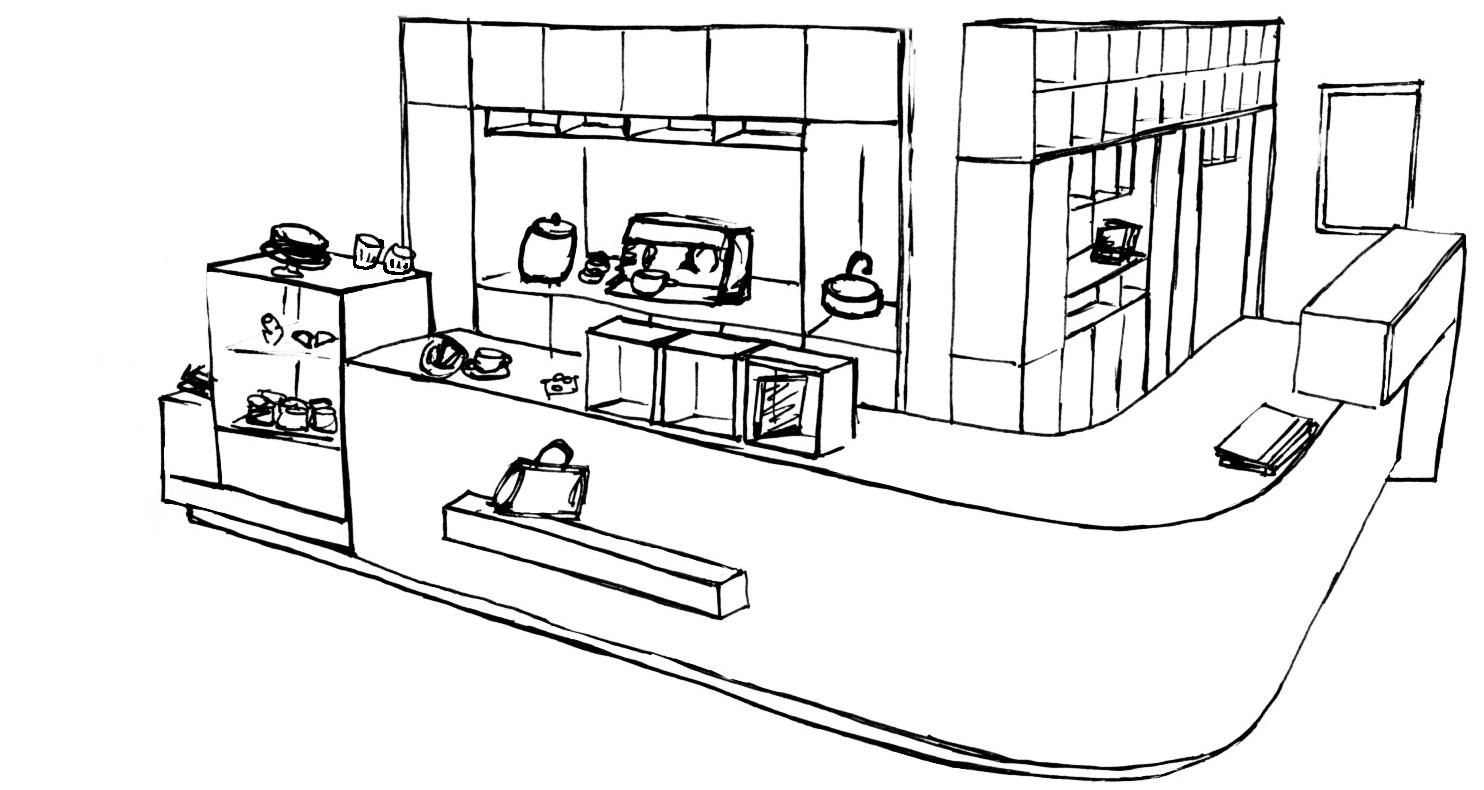 Livre et art - Café, boutique, librairie du Musée L