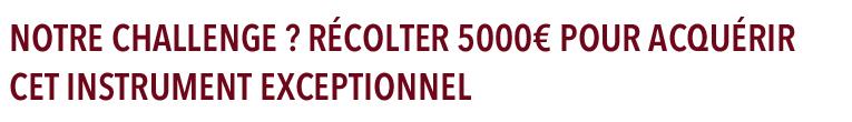 Une harpe pour l'Opéra Royal de Wallonie