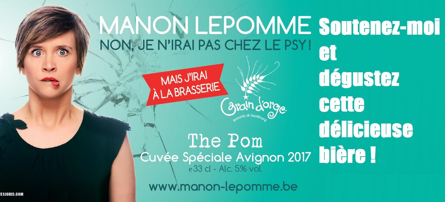Manon Lepomme - A Avignon, grâce à vous !