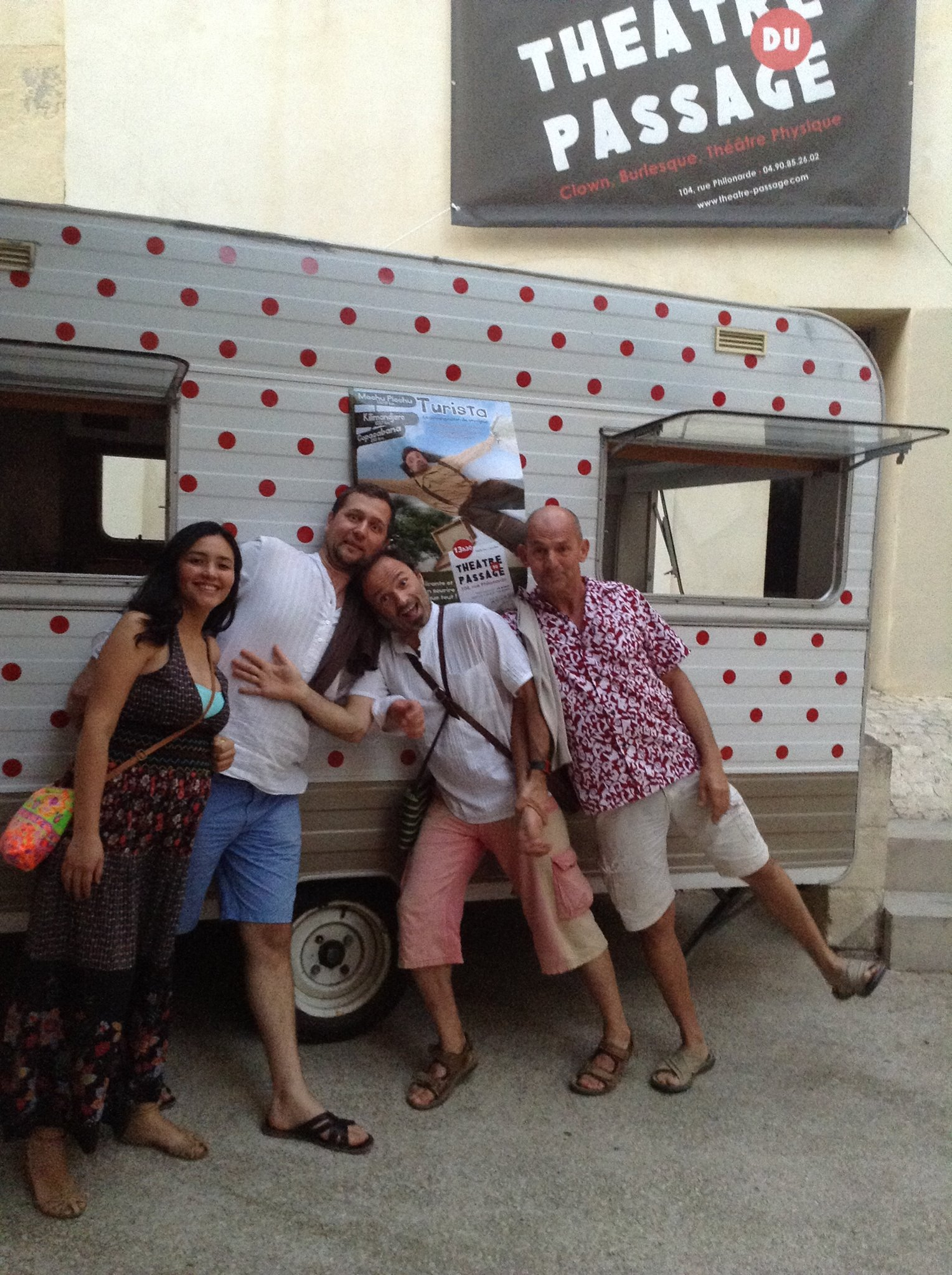 Turista en route vers Avignon