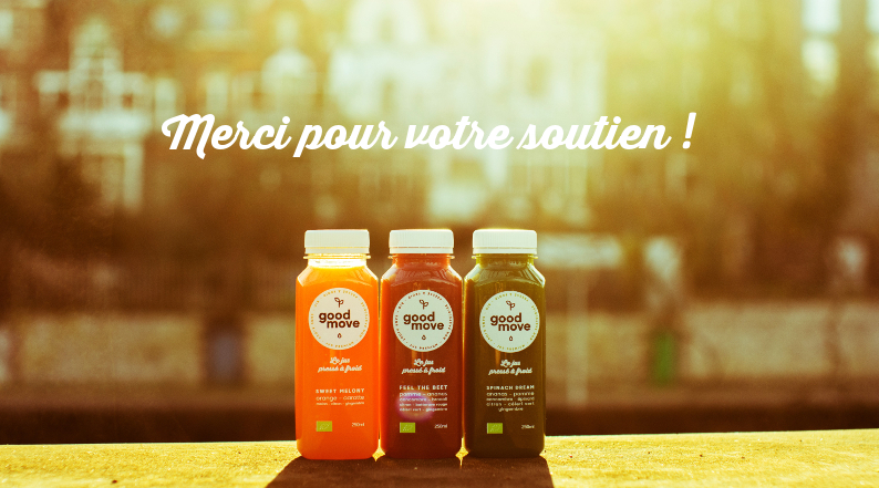 Good Move - Le jus bio pressé à froid