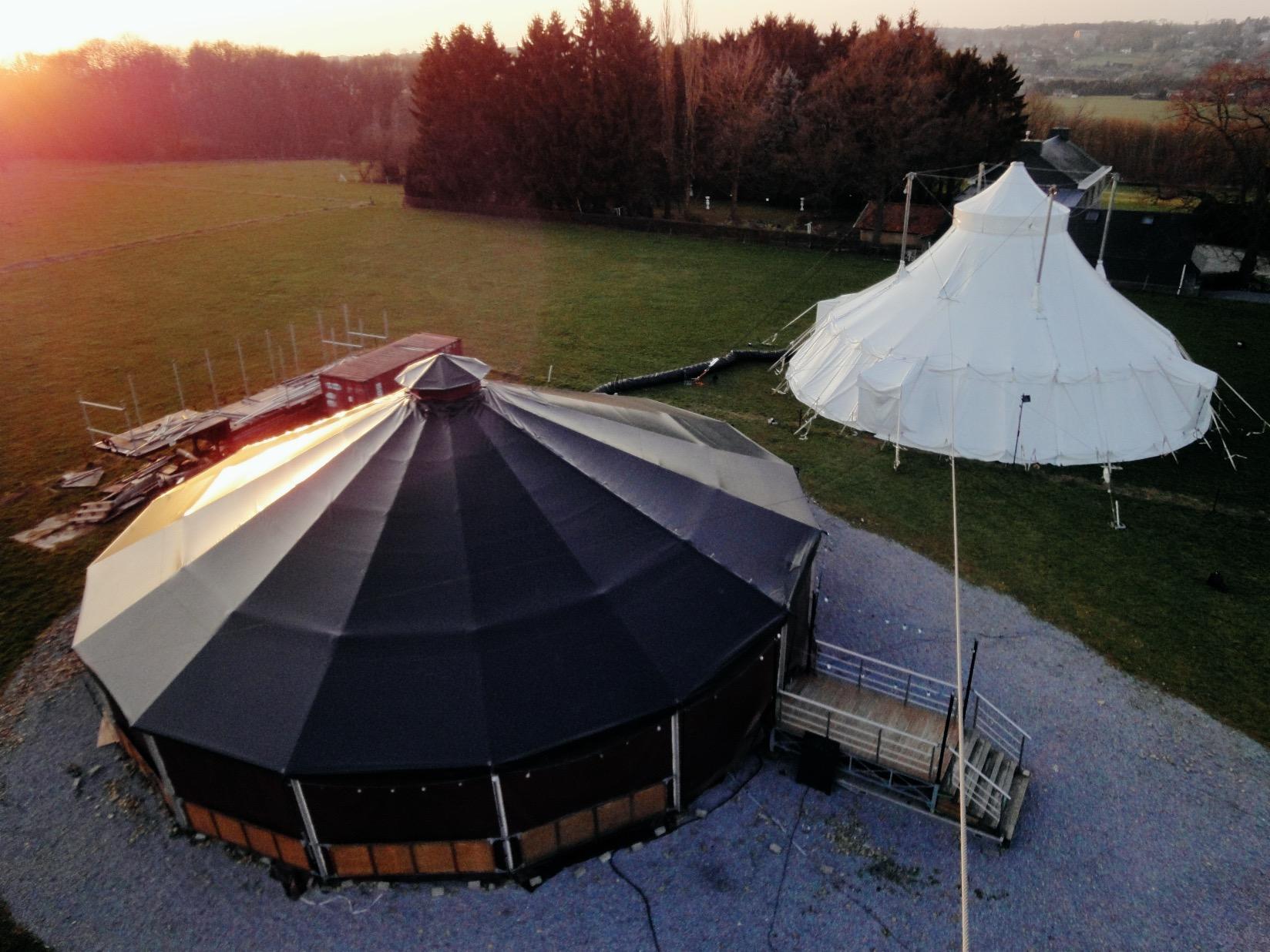 L'Ecole de Cirque de Marchin construit sa salle