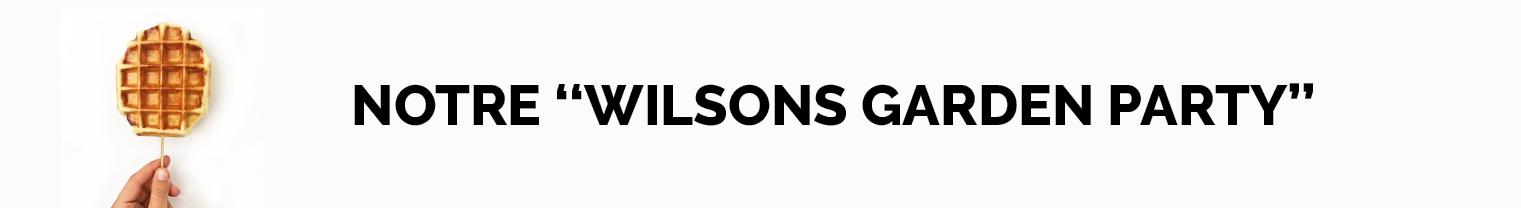 Les Gaufres Wilsons s'envolent