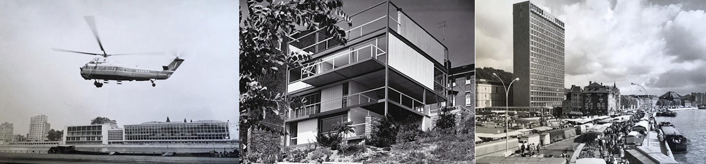 Liège XXe siècle - Les images de l'architecture moderne