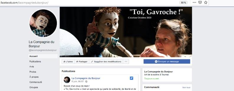 Spectacle de marionnettes - Toi, Gavroche