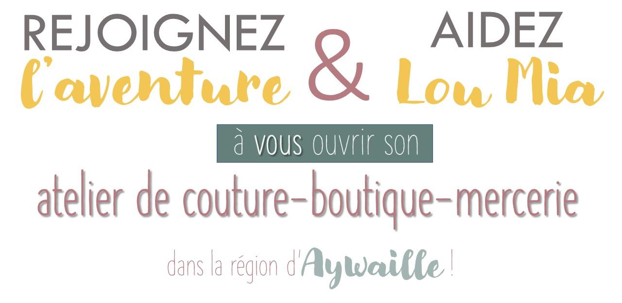 Lou Mia atelier de couture- boutique mercerie